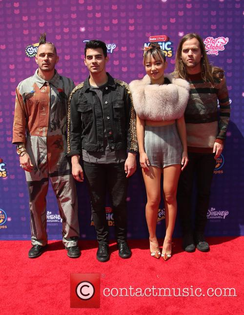 Joe Jonas, Cole Whittle, Jack Lawless and Jinjoo Lee 5