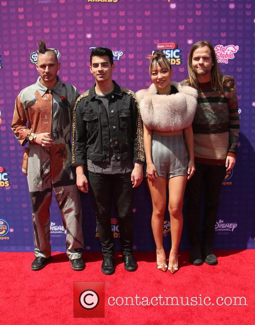 Joe Jonas, Cole Whittle, Jack Lawless and Jinjoo Lee 6