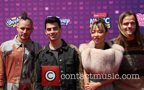 Joe Jonas, Cole Whittle, Jack Lawless and Jinjoo Lee 7