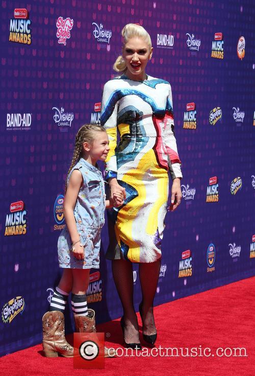 Gwen Stefani and Stella Stefani 7