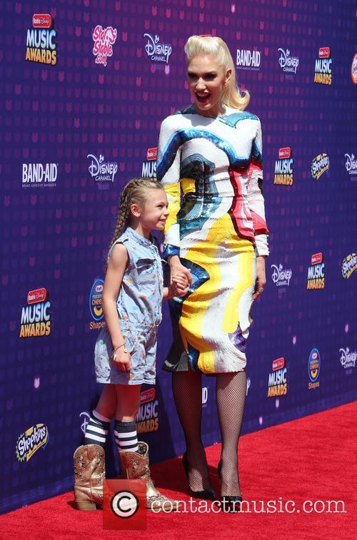 Gwen Stefani and Stella Stefani 8