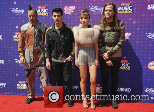 Cole Whittler, Jack Lawless, Joe Jonas and Jinjoo Lee 1