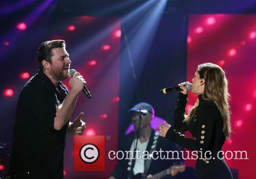 Chris Young and Cassadee Pope 11
