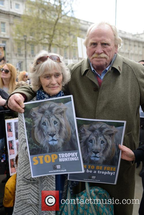 Virginia Mckenna and James Cosmo 1