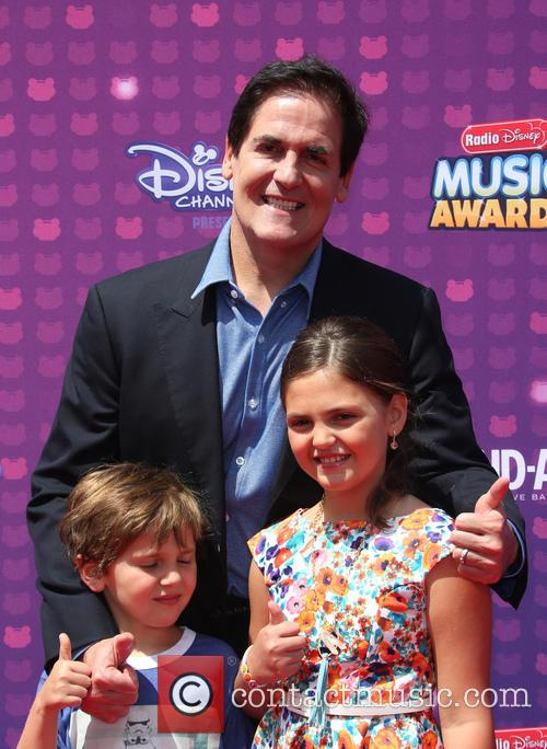 Mark Cuban, Jake Cuban and Alyssa Cuban 3