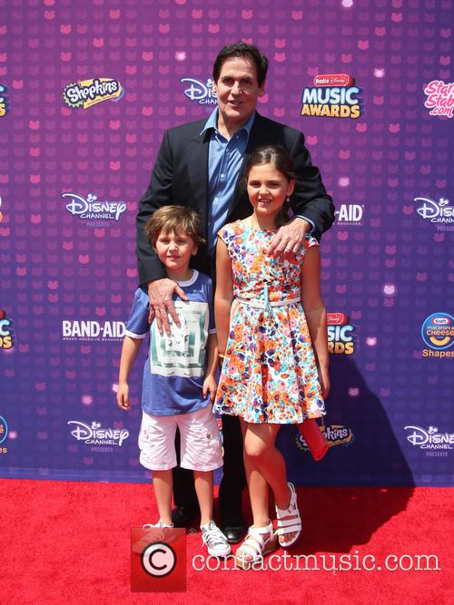 Mark Cuban, Jake Cuban and Alyssa Cuban 5