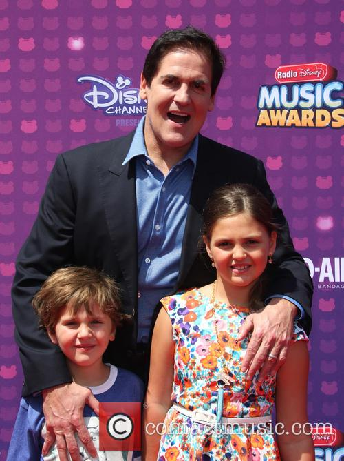 Mark Cuban, Jake Cuban and Alyssa Cuban 6