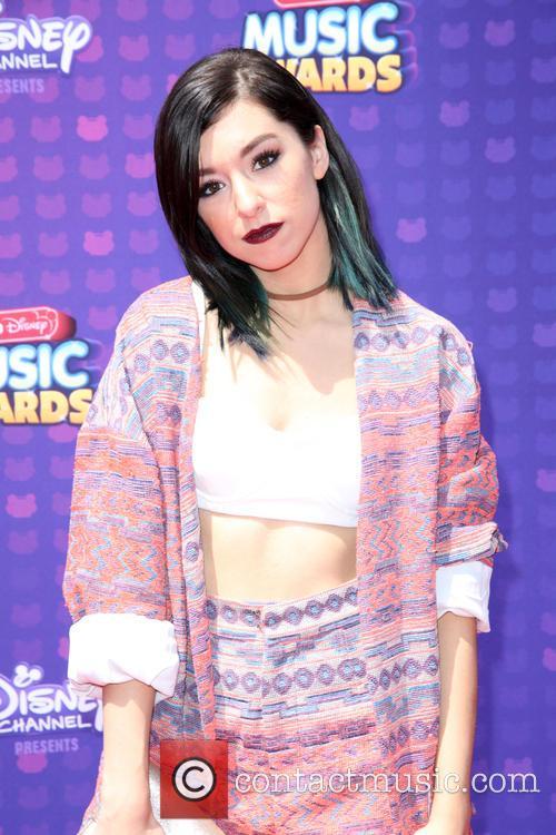 Christina Grimmie at the 2016 Radio Disney Music Awards