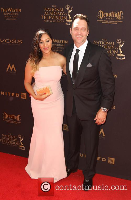 Tamera Mowry and Adam Housley 7