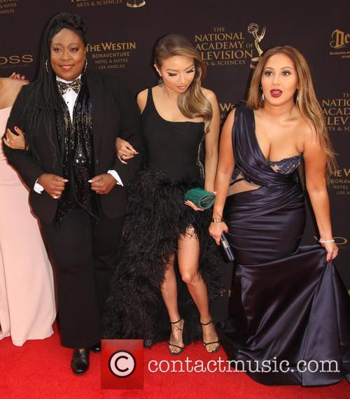 Loni Love, Jeannie Mai and Adrienne Bailon