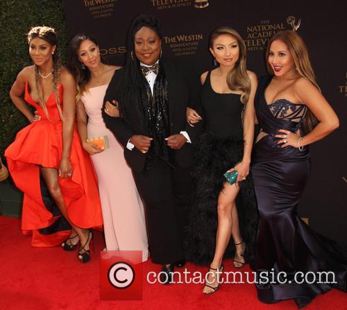 Tamar Braxton, Tamera Mowry-housley, Loni Love, Jeannie Mai and Adrienne Bailon 4