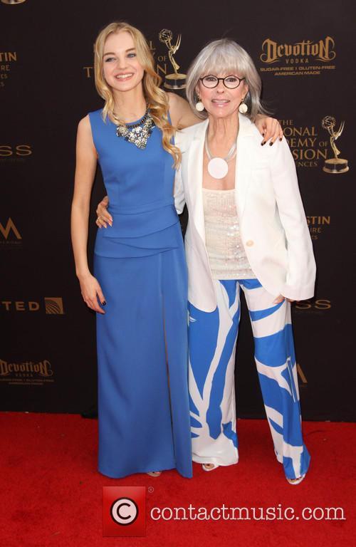 Olivia Rose Keegan and Rita Moreno 1