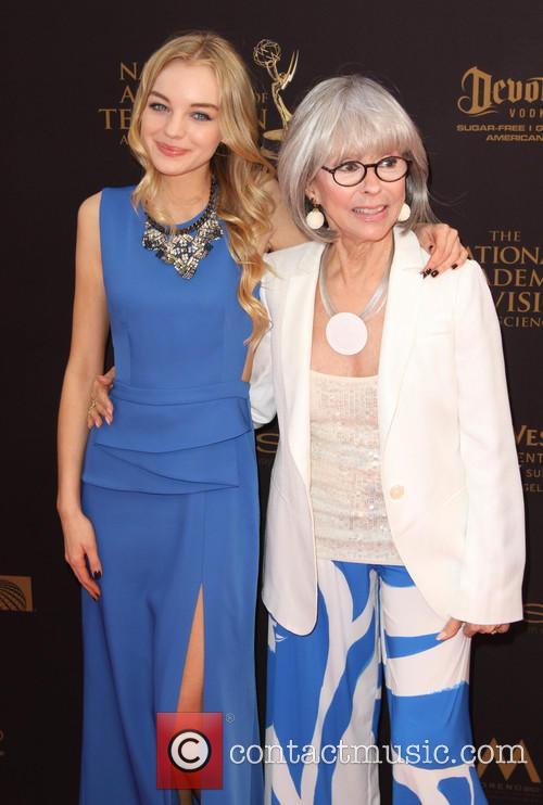 Olivia Rose Keegan and Rita Moreno 2