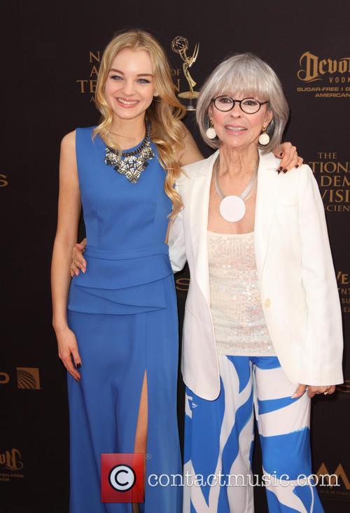 Olivia Rose Keegan and Rita Moreno 3