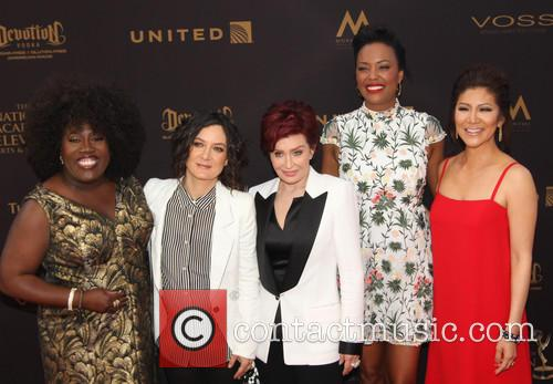 Sheryl Underwood, Sara Gilbert, Sharon Osbourne, Aisha Tyler and Julie Chen 1