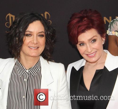 Sara Gilbert and Sharon Osbourne 1