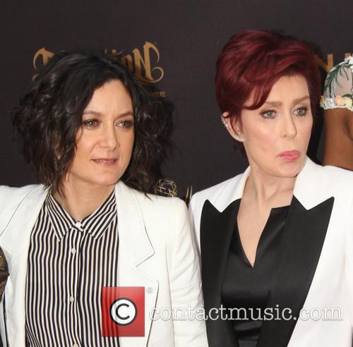 Sara Gilbert and Sharon Osbourne 2