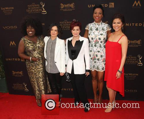 Sheryl Underwood, Sara Gilbert, Sharon Osbourne, Aisha Tyler and Julie Chen 3