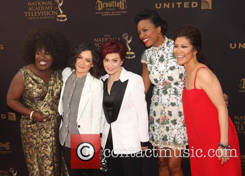 Sheryl Underwood, Sara Gilbert, Sharon Osbourne, Aisha Tyler and Julie Chen 4