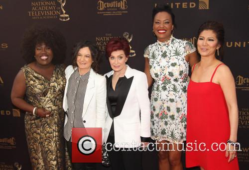 Sheryl Underwood, Sara Gilbert, Sharon Osbourne, Aisha Tyler and Julie Chen 5