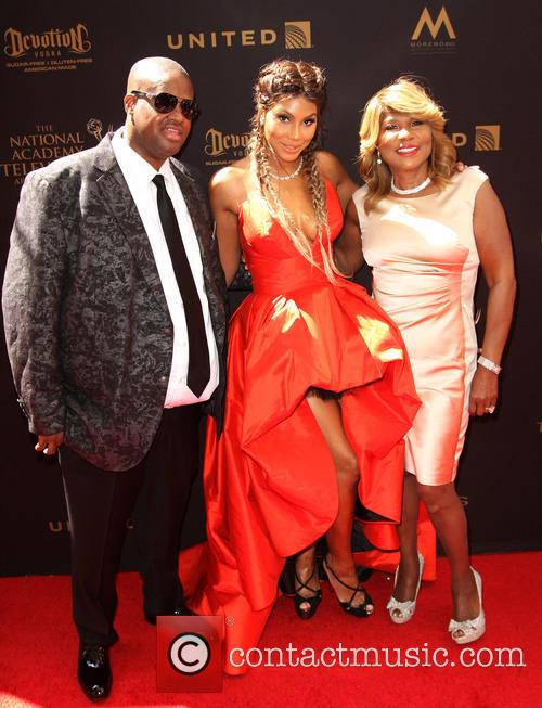 Tamar Braxton, Husband Vincent Herbert and Mother Evelyn Braxton 7