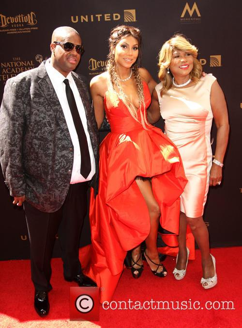 Tamar Braxton, Husband Vincent Herbert and Mother Evelyn Braxton 8