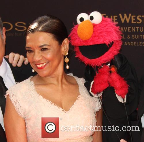 Sonia Manzano and Elmo 5
