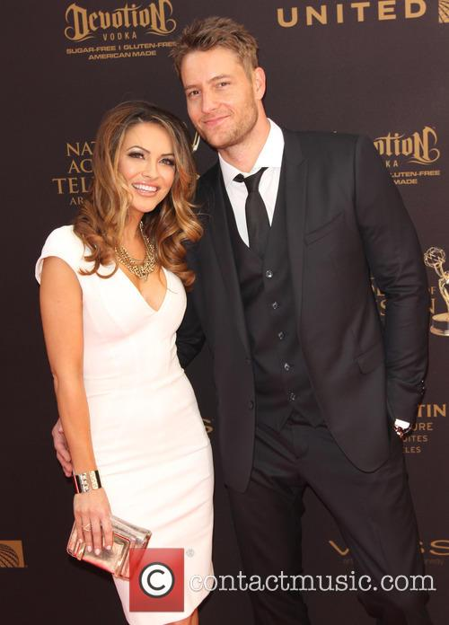 Justin Hartley and Lindsay Hartley