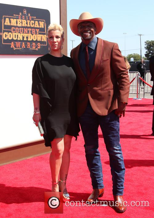Rebecca King-crews and Terry Crews 2