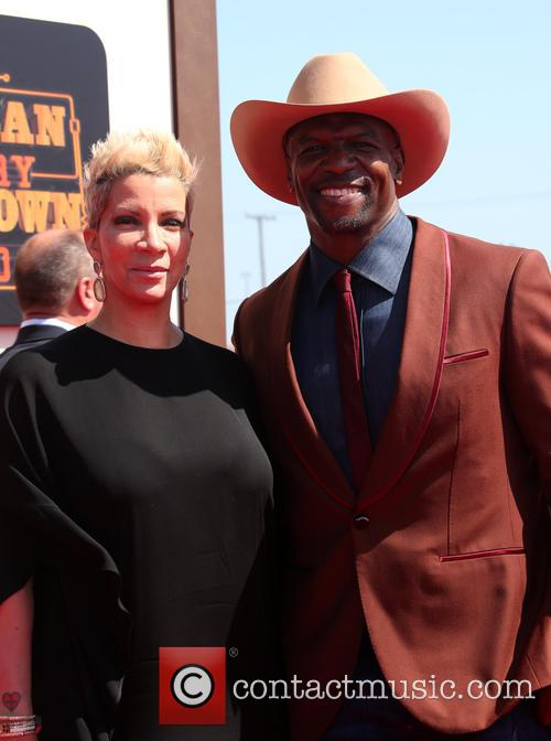 Rebecca King-crews and Terry Crews 3