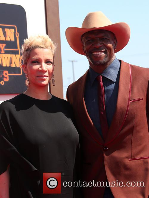 Rebecca King-crews and Terry Crews 4