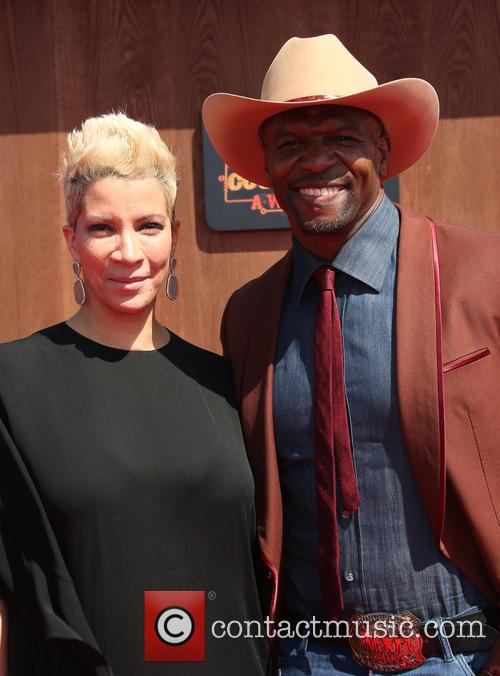 Rebecca King-crews and Terry Crews 9