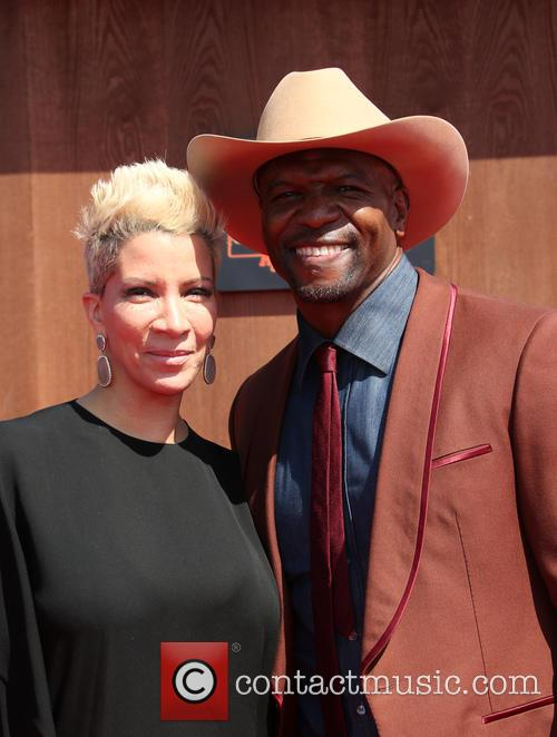 Rebecca King-crews and Terry Crews 10