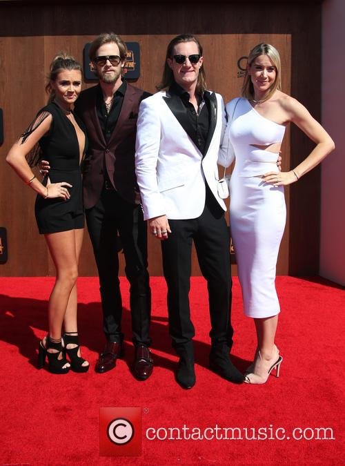 Brittney Marie Cole, Brian Kelley, Tyler Hubbard and Hayley Stommel 1