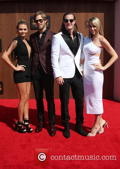 Brittney Marie Cole, Brian Kelley, Tyler Hubbard and Hayley Stommel 5