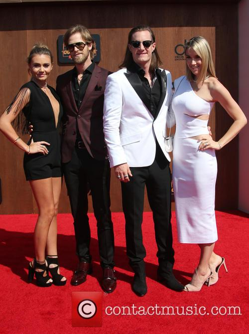 Brittney Marie Cole, Brian Kelley, Tyler Hubbard and Hayley Stommel 6