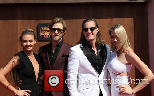 Brittney Marie Cole, Brian Kelley, Tyler Hubbard and Hayley Stommel 10