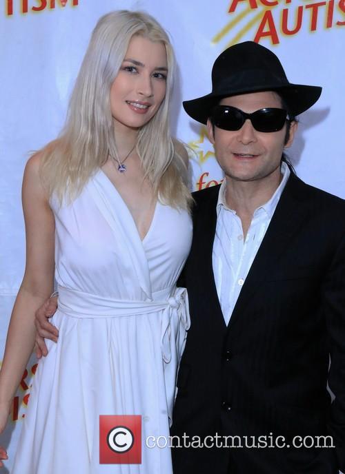 Corey Feldman and Courtney Anne