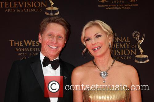 Bradley Bell and Katherine Kelly Lang 2
