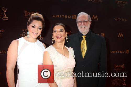 Gabriela Reagan, Sonia Manzano and Richard Reagan 1