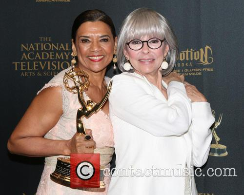 Sonia Manzano and Rita Moreno 2