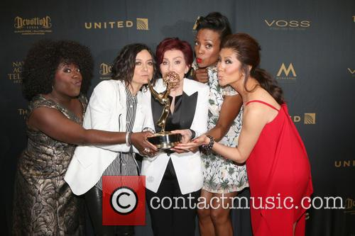 Sheryl Underwood, Sara Gilbert, Sharon Osbourne, Aisha Tyler and Julie Chen