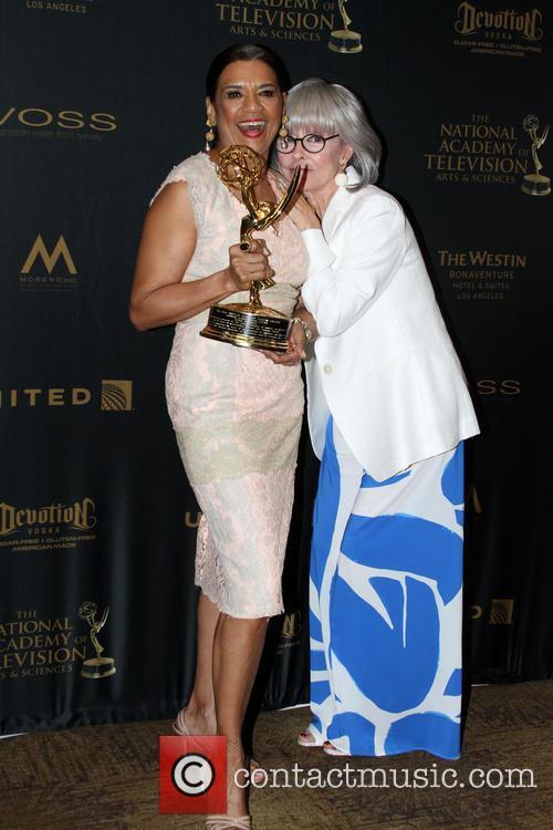 Sonia Manzano and Rita Moreno 8
