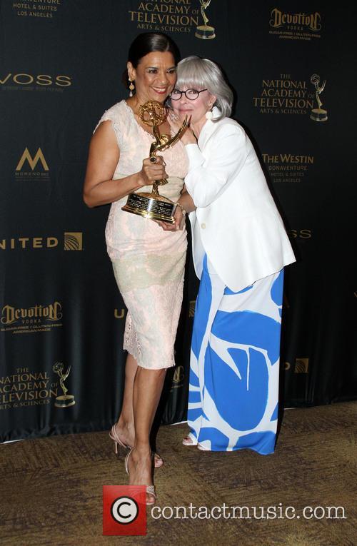 Sonia Manzano and Rita Moreno 9