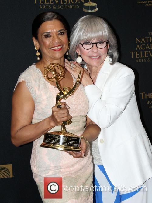 Sonia Manzano and Rita Moreno 10