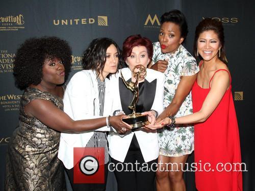Sheryl Underwood, Sara Gilbert, Sharon Osbourne, Aisha Tyler and Julie Chen Of The Talk 5