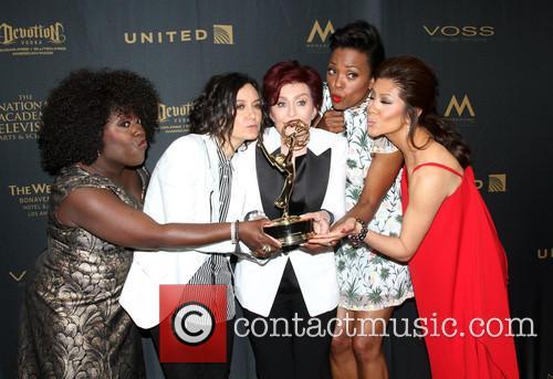 Sheryl Underwood, Sara Gilbert, Sharon Osbourne, Aisha Tyler and Julie Chen Of The Talk 6