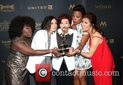 Sheryl Underwood, Sara Gilbert, Sharon Osbourne, Aisha Tyler and Julie Chen Of The Talk 7