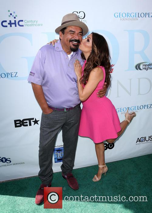 George Lopez and Eva Longoria 3