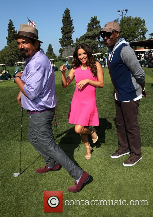 George Lopez, Eva Longoria and Arsenio Hall